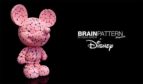 BRAIN PATTERN CUSTOM MICKEY
