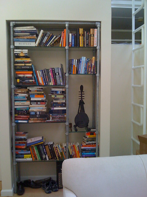 Shelving Made With Kee Klamp Pipe Fittings Image Gallery