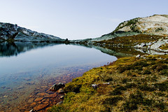 Upper Saphire Lake (Feffef) Tags: lake canada mountains landscape britishcolumbia alpine kootenays kokaneeglacierprovincialpark saphirelakes