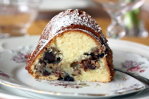 Nutty, Chocolaty, Swirly Sour Cream Bundt Cake