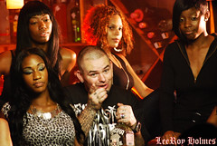 Paul Wall on the set of I'm on Patron (LeeRoy Holmes) Tags: wall paul im heart south champion houston dirty rap rapper patron dirtysouth paulwall heartofachampion houstonrapper imonpatron