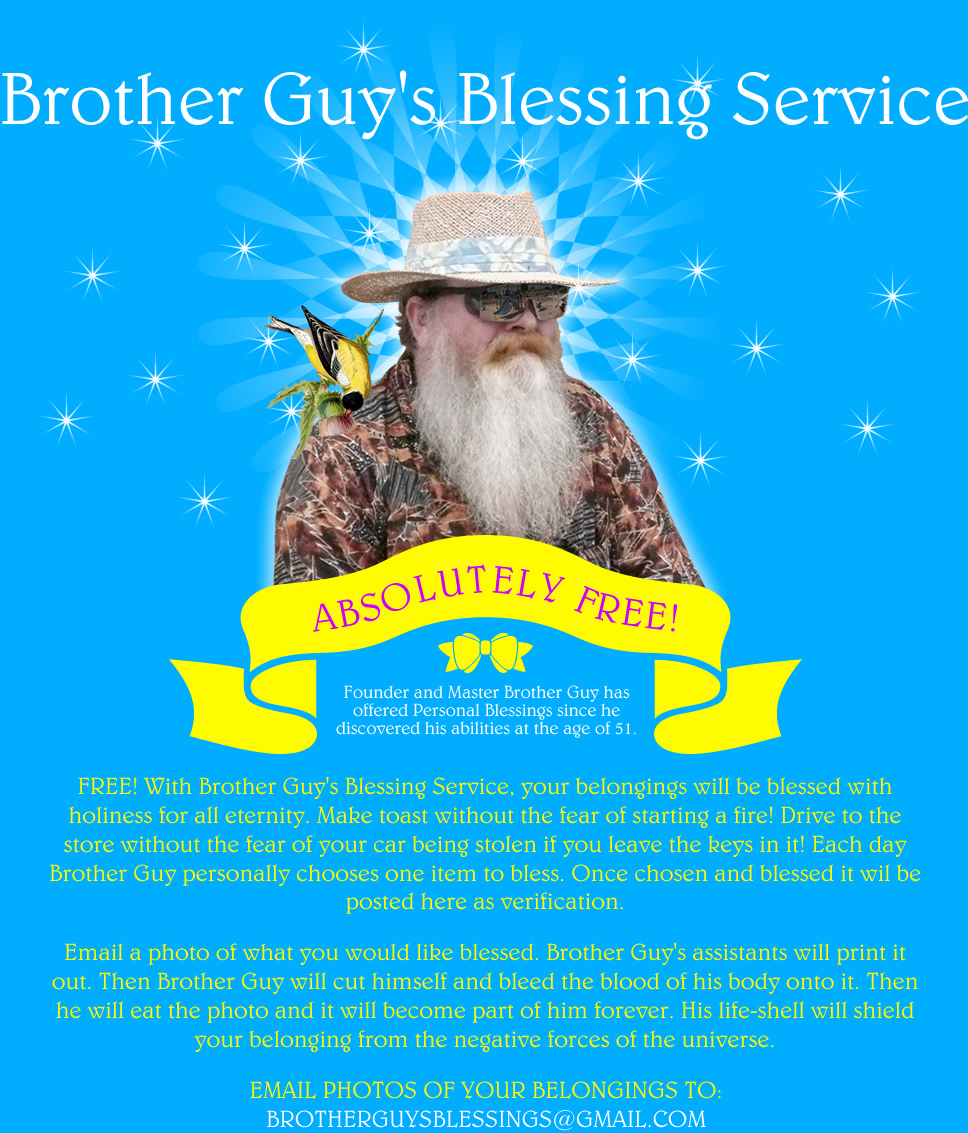 Brother Guy's Blessing Service