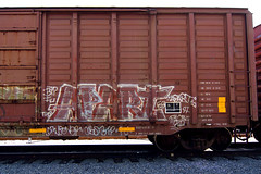 1997 (TRUE 2 DEATH) Tags: street railroad streetart art train graffiti tag graf trains railcar spraypaint fu railways railfan freight cbs apart tko btp freighttrain rollingstock fgs benching freighttraingraffiti
