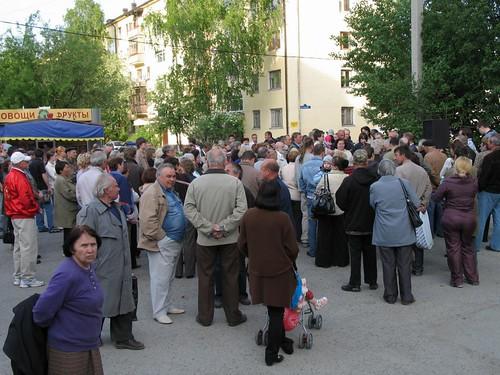 Митинг на Мурманской