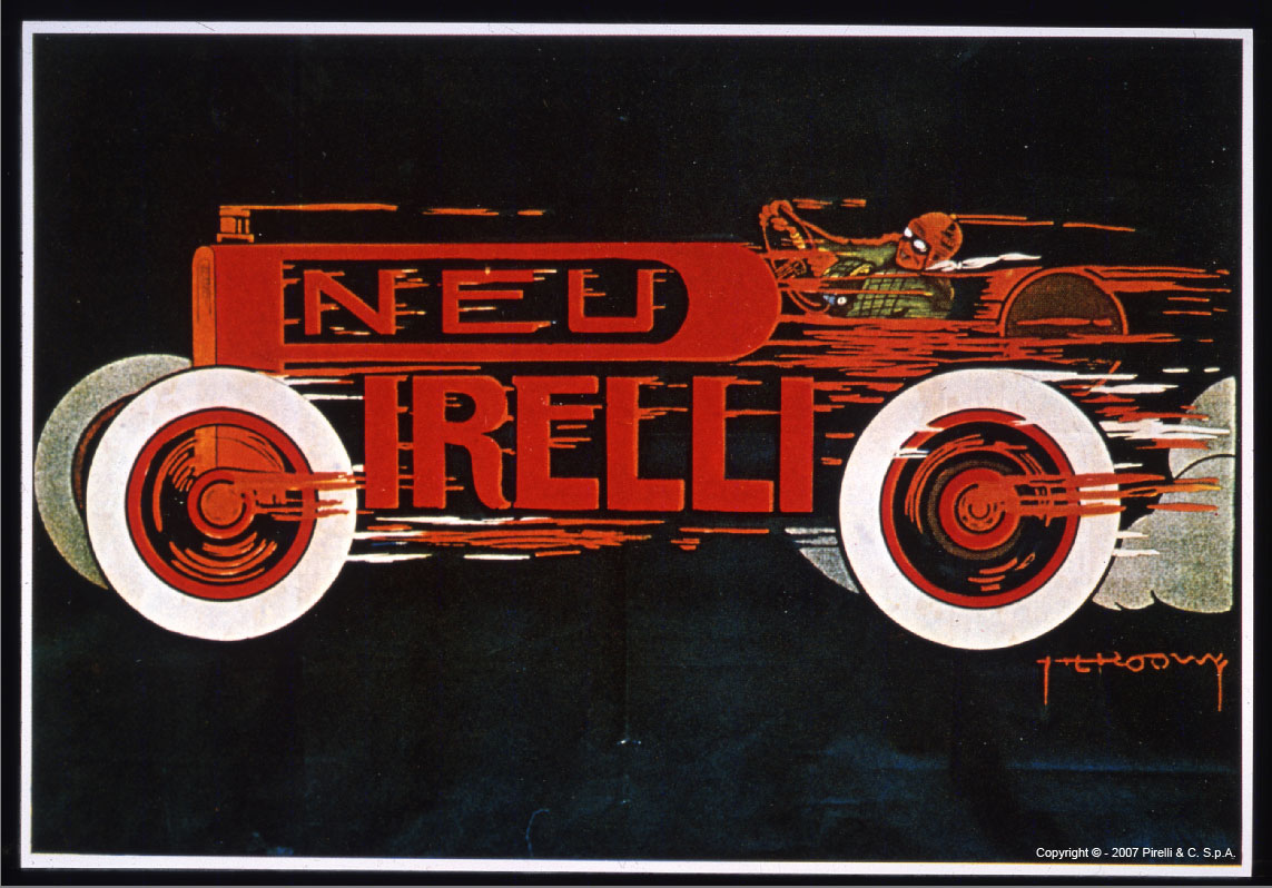 Pirelli advertising