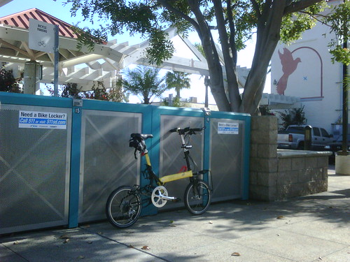 Need a bike locker?