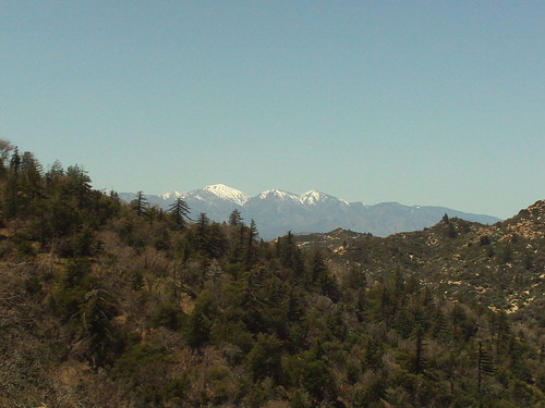 Snow On Mount Baldy-2
