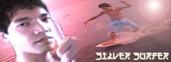 silver surfer (papew) Tags: pew skimboarding papew
