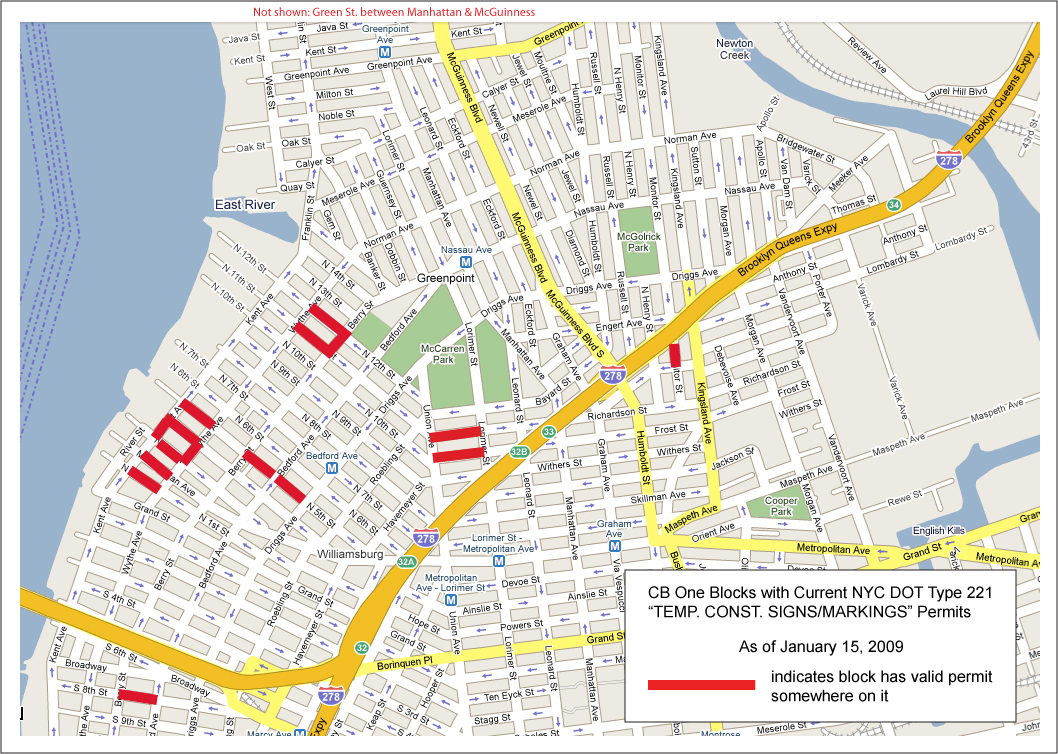 CB 1 valid parking permits Jan 15 09