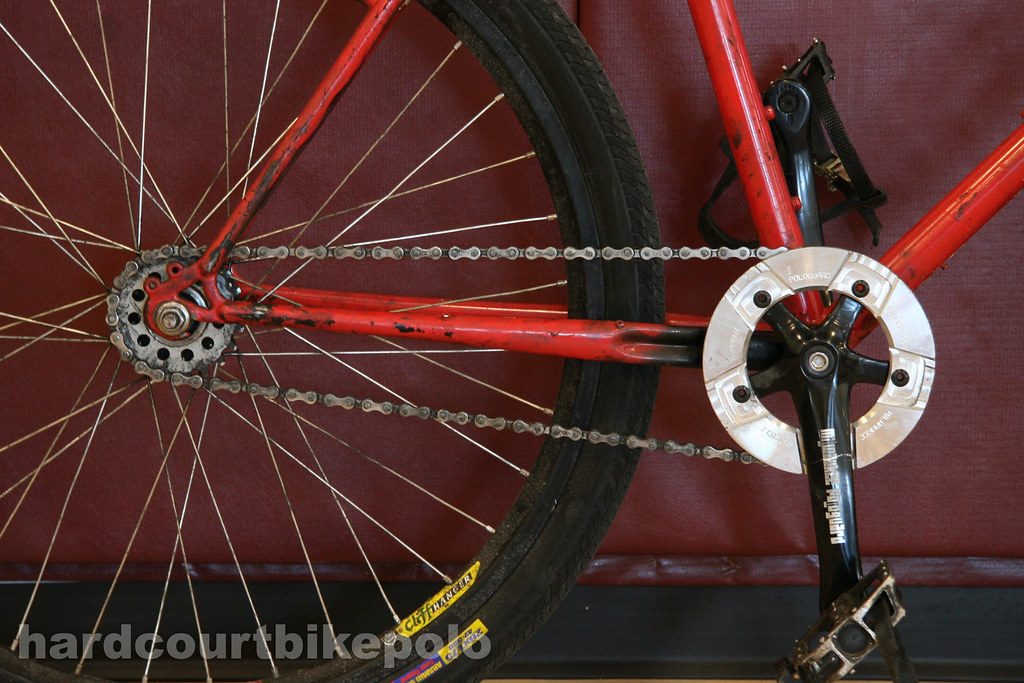 Ben's hardcourt polo bike drivetrain
