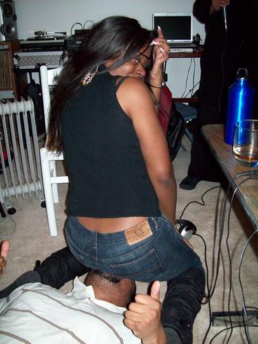 Worship black asses