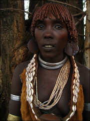 """Keri"" is the name of this hamer girl - Omo Valley Ethiopia (Znapshot.) Tags: africa travel portrait bw black face hammer closeup hair pretty serious african portait tribal lips adventure blackpeople omovalley charming elegant ethiopia nikkor tribe fabulous ethnic blick mursi hamar hamer ethnicity afrique tribu omo eastafrica jinka lovley takeabow abyssinia cloeup ethiopie blackskin tribalportrait ethnique abyssinie dimeka turmi ethnie mursitribe passionphotography hammertribe southethiopia marcobecher michaelatischer wwwmarcobecherde znapshot valleedelomo aetiopien"