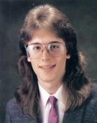 My senior yearbook photo