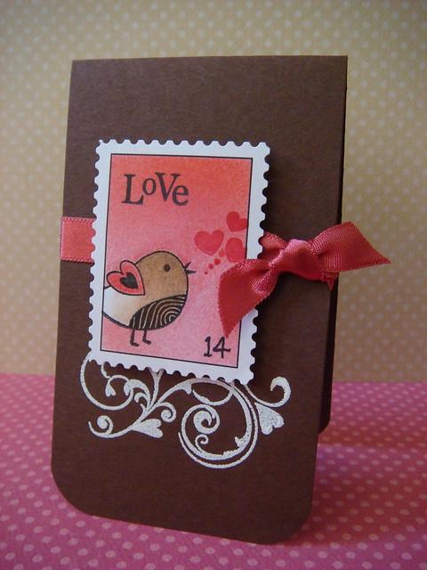 Birdie love faux post