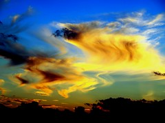 Salvador Dali's Sunset ! (Ilias Orfanos) Tags: sunset colour art clouds olympus greece salvadordali arkadia 20000views abigfave colourartaward niceshotmosaic16