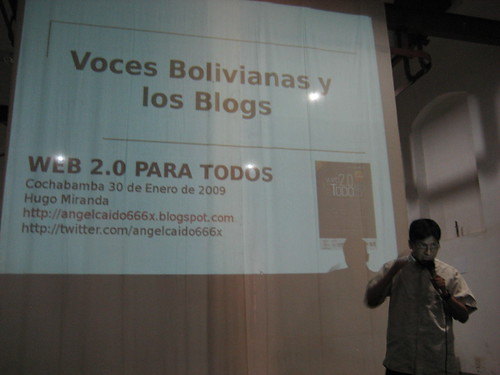 Hugo Miranda en Blogs bolivianos