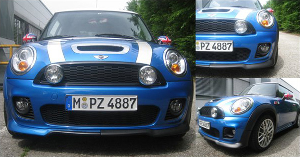 Updated Jcw Aero Kit Woptional Color Coded Arches Revealed