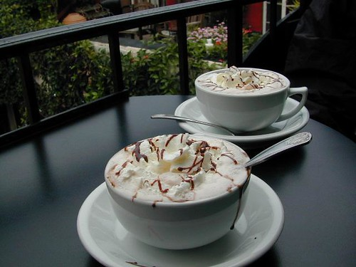 Hot Cocoa @ local cafe