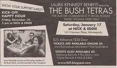 01-17-09 Laura Kennedy Benefit Ad (City Pages)