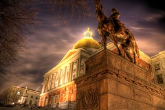 Mass State House (Amar Raavi) Tags: boston night canon massachusetts newengland capitol hdr beaconhill amar statehou