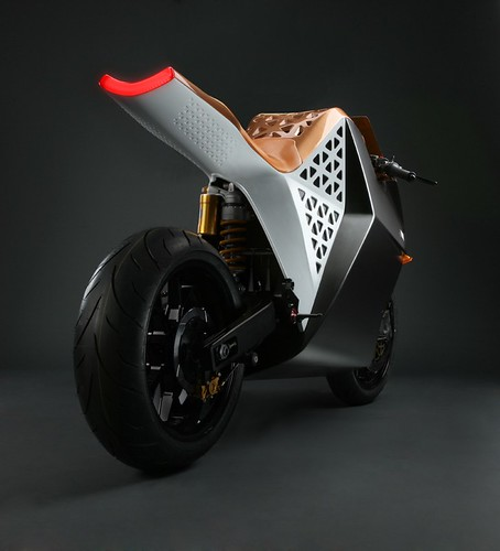 Mission One EV sport bike .