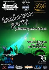 6 Februarie 2009 » Freshman Party