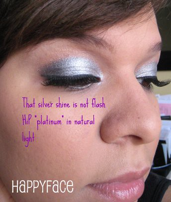 "HiP metallic duo in ""platinum"""