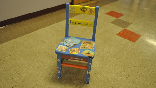 Mr. Post's Class Chair...