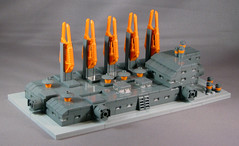 Micro Moonbase or What are these damn Power Miner bits good for anyway? (-Mainman-) Tags: power lego micro moonbase 2009 miners microspace 14feb09