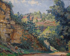 Chemin en Dordogne (vers 1935) (Chamant) Tags: life mer france art nature painting landscape belgium belgique aquarelle fineart paintings lot dordogne peinture canvas morte painter oil impressionism sur prigord georges impressionist emile oilpainting gourdon naturemorte peintre perigord quercy sicle oise xxme impressionnisme postimpressionism impressionniste peinturelhuile jemappes cougnac carennac dpartementdulot peintrebelge departementdulot postimpressionniste lebacq georgesemilelebacq georgesmile belgianpainter georgeslebacq