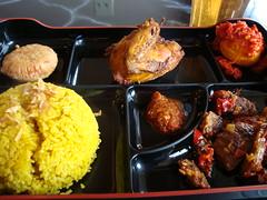 Nasi Kuning Combo