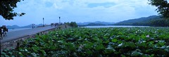 Hangzhou - West Lake (SpirosK photography) Tags: china sky panorama water beautiful clouds landscape westlake hangzhou stitched sognidreams