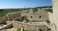 P07-Kolossi Fort (SpirosK photography) Tags: sky panorama green castle ruins fort entrance cyprus stitched kolossi