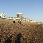On Brighton beach (Brighton, United Kingdom)