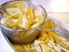the pasta