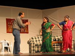 Marathi Play: Dinuchya Sasubai, Radhabai (Sujal Parikh) Tags: november 2002 play issaquah marathi sasubai radhabai dinuchya