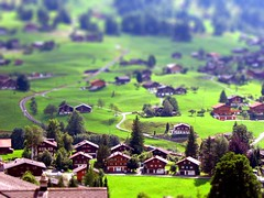 Switzerland / tilt shift (patrick.swinnea) Tags: switzerland miniature model europe village swiss fake tiny tiltshift tiltshiftmakercom