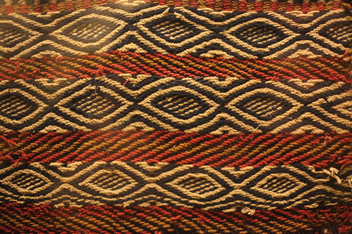 Ancient woven textile