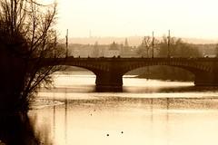 Bridge on Vitava (jdpilgrim) Tags: river prague vltava jdpilgrim