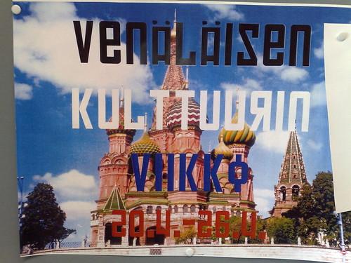 Venäläisen kulttuurin viikko