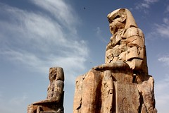 The Colossi of Memnon (steph9668) Tags: africa cruise friend