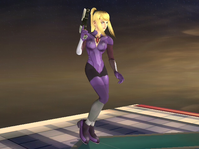 It's Jill Valentine in her battlesuit!