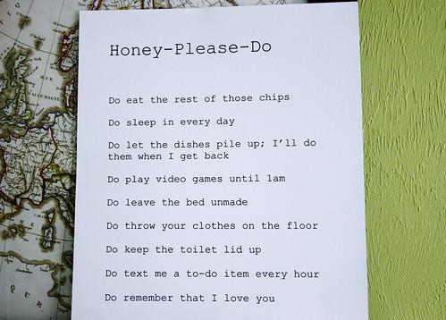 honeydolist