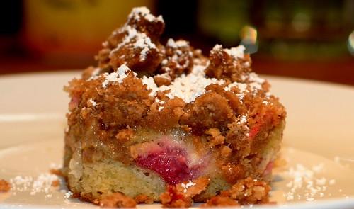 rhubab crumb coffee cake