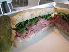 noon midtown - lamb sandwich .. upclose and personal