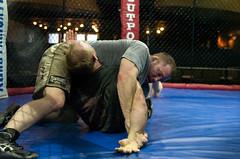 Matt Hughes and Brock Larson (Shaynesphotos.com) Tags: matt nation brock ufc myth hughes larson brutal fights