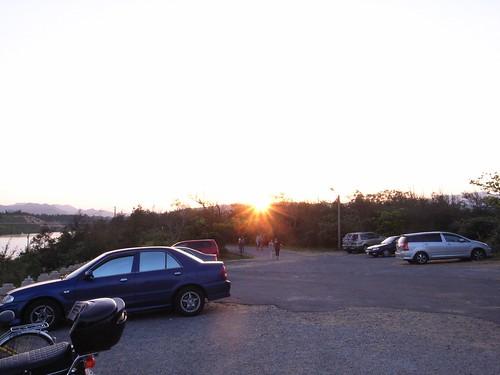 福隆海水浴場的美麗夕陽