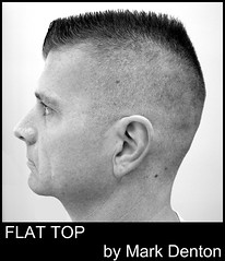 Flat Top by Mark Denton (swampzoid) Tags: haircut shop hair cut oldschool barber flattop clippers flaptop markdenton