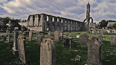 st andrews cathedral hdr ( hinjuku) Tags: uk ruins panasonic standrews hdr cathdral lx3
