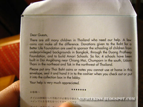 donation packet description